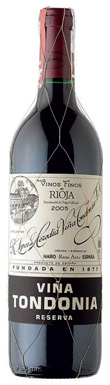 R López de Heredia, Viña Tondonia, Rioja, 2005
