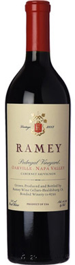 Ramey, Napa Valley, Oakville, Pedregal Vineyard Cabernet