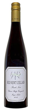 Red Newt Cellars, Glacier Ridge Vineyards Pinot Noir, Finger