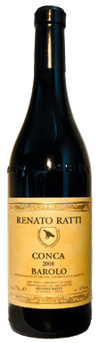 Renato Ratti, Barolo, Conca, La Morra, Piedmont, Italy, 2008