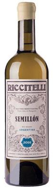 Riccitelli, Old Vines Semillon, Río Negro, Patagonia, 2016