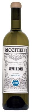 Riccitelli, Old Vine Semillon, Río Negro, Patagonia, 2017