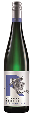 Richard Böcking, Richheart Riesling, Mosel, Germany, 2013