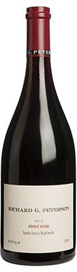 Amuse Bouche, Richard G Peterson Pinot Noir, Monterey