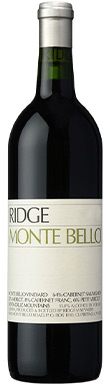 Ridge Vineyards, Monte Bello, San Francisco Bay, Santa Cruz