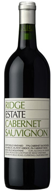 Ridge Vineyards, Estate, San Francisco Bay, Santa Cruz
