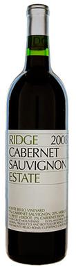 Ridge Vineyards, Santa Cruz Mountains, Estate Cabernet