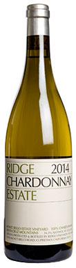 Ridge Vineyards, Santa Cruz Mountains, Estate Chardonnay,