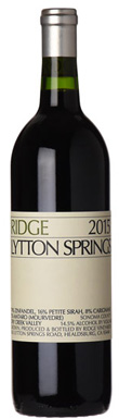 Ridge Vineyards, Sonoma, Dry Creek Valley, Lytton Springs,