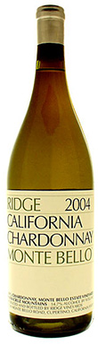 Ridge Vineyards, Santa Cruz Mountains, Monte Bello