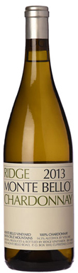 Ridge Vineyards, Santa Cruz Mountains, Monte Bello, 2013
