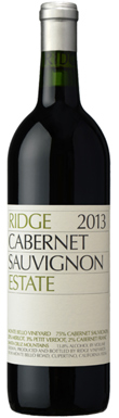 Ridge Vineyards, Estate Cabernet Sauvignon, San Francisco