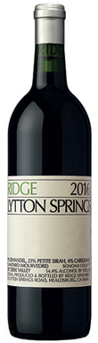 Ridge Vineyards, Lytton Springs, Sonoma County, Dry Creek