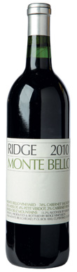 Ridge Vineyards, Monte Bello, San Francisco Bay, Santa Cruz