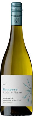 Rimapere, Single Vineyard Sauvignon Blanc, Marlborough, 2017