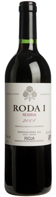 Roda, I Reserva, Rioja, Northern Spain, Spain, 2004