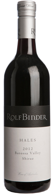 Rolf Binder, Hales Shiraz, Barossa Valley, 2012