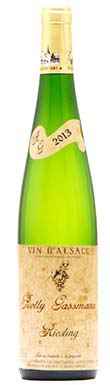 Rolly Gassmann, Riesling, Alsace, France, 2013
