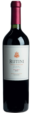 Rutini, Single Vineyard Malbec, Uco Valley, Gualtallary