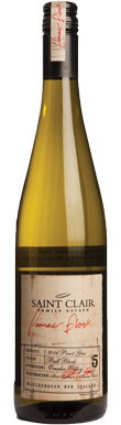Saint Clair Family Estate, Bull Block 5 Pinot Gris, Omaka