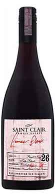 Saint Clair Family Estate, Pioneer Block 26 Tutu Pinot Noir