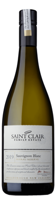 Saint Clair Family Estate, Reserve Sauvignon Blanc, Wairau