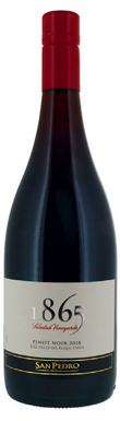 San Pedro, 1865 Selected Vineyards Pinot Noir, 2018