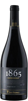 San Pedro, 1865 Limited Edition Syrah, Elqui Valley, 2015