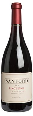 Sanford, Pinot Noir, Santa Barbara County, Santa Rita Hills