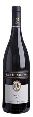 Saronsberg, Syrah, Tulbagh, South Africa, 2012