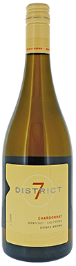 Scheid Family Wines, District 7 Chardonnay, Monterey County