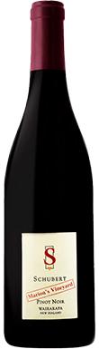 Schubert, Marion's Vineyard Pinot Noir, Gladstone, 2017