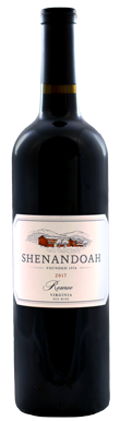 Shenandoah Vineyards, Reserve Red, Virginia, USA, 2017