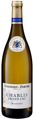 Simonnet-Febvre, Chablis, Blanchot Grand Cru, Burgundy, 2015