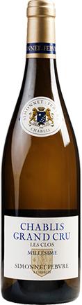 Simonnet-Febvre, Chablis, Les Clos Grand Cru, Burgundy, 2015