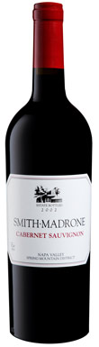 Smith-Madrone, Cabernet Sauvignon, Napa Valley, Spring