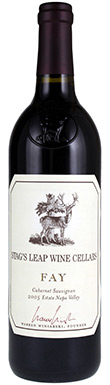 Stag's Leap Wine Cellars, Fay Vineyard Cabernet Sauvignon