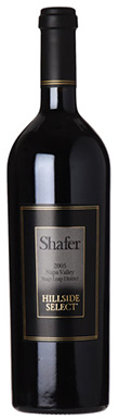 Shafer, Napa Valley, Stags Leap District, Hillside Select