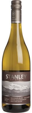 Stanley Estates, Awatere Valley, Sauvignon Blanc, 2016
