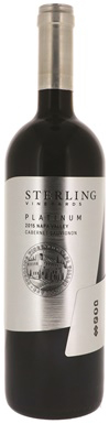 Sterling Vineyards, Platinum Cabernet Sauvignon, Napa