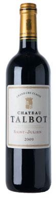 Château Talbot, St-Julien, 4ème Cru Classé, 2012