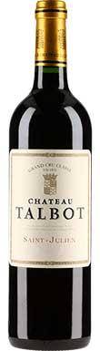 Château Talbot, St-Julien, 4ème Cru Classé, 1989