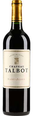 Château Talbot, St-Julien, 4ème Cru Classé, 1975