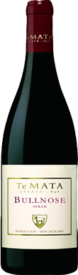 Te Mata, Bullnose Syrah, Hawke's Bay, New Zealand, 2013