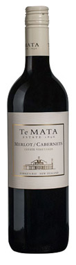 Te Mata, Estate Vineyards Merlot/Cabernets, 2018