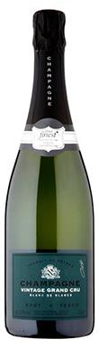 Tesco, Finest Grand Cru Blanc de Blancs, Champagne, 2015