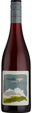 The Capeography Co, Cloudscape Cinsault, Paarl, 2020