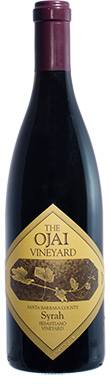 The Ojai Vineyard, John Sebastiano Vineyard Syrah, Santa