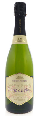 Three Choirs, Brut Reserve, Blanc de Noir, 2009