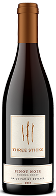 Three Sticks, Price Family Estates Pinot Noir, Sonoma